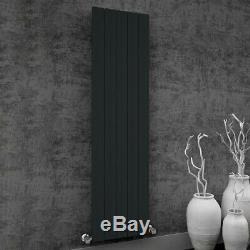 Modern Designer Aluminium Anthracite Vertical Radiator Central Heating Reina