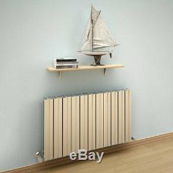 Modern Designer Polished Aluminium Horizontal Radiator Central Heating Reina