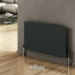 Modern Designer Slimline Anthracite Horizontal Panel Radiator Central Heating