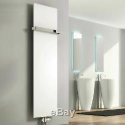 Modern Designer Slimline White Vertical Panel Radiator Central Heating Reina