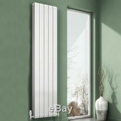 Modern Designer White Aluminium Vertical Panel Radiator Central Heating Reina
