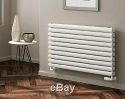 Modern Designer White Horizontal Single Double Radiator Central Heating Reina