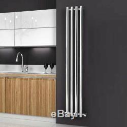 Modern Designer White Vertical Column Radiator Central Heating Reina