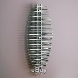 Modern Vertical Column Designer Chrome Radiator Central Heating Kartell