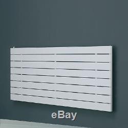 Modern White Horizontal Designer Radiator Single Panel Central Heating Eucotherm