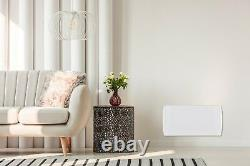 Mylek Panel Heater Electric Radiator Wall Mounted With Timer Slim Convector LCD