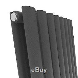 NEW Vertical Or Horizontal Oval Double Radiator Column Central Designer Heating