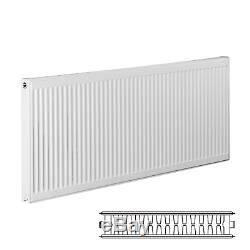 New Double Panel Double Convector Type 22 300 x 2000mm Central Heating Radiator