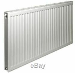 New Double Panel Type 21 400mm High Central Heating Compact Convector Radiator