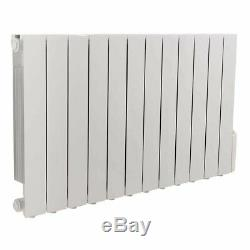 Oil Filled Electric Radiator Thermostatic Wall Mounted Heater 577x1017mm 2000W
