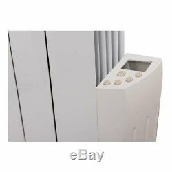 Oil Filled Electric Radiator Thermostatic Wall Mounted Heater 577x461mm 900W
