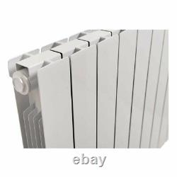 Oil Filled Electric Radiator Thermostatic Wall Mounted Heater 577x778mm 1500W