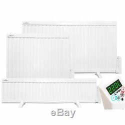 Oil Filled Electric Radiator, Wall Mounted / Portable Panel Heater 700W 2000W