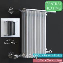 Parliament Traditional Heated Towel Rail Radiator, Bathroom. CENTRAL HEATING