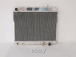 Radiator 1963 1964 1965 1966 Chevy GMC Pickup Truck Aluminum + Shroud and Fan