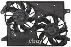Radiator And Condenser Fan For Dodge Charger Chrysler 300 CH3115132