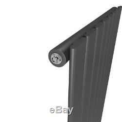 Radiator Designer Single Double Central Heating Flat Anthracite Horizontal Pipe