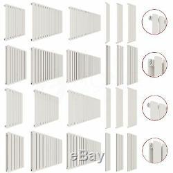Radiator Designer Single Double Vertical Horizontal Central Heating Modern White