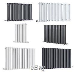 Radiator Horizontal Design Oval Column Central Heating Warmer Towel Rails Bath