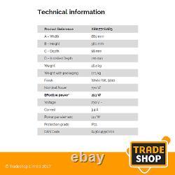 Rointe Kyros KRI0770RAD3 Energy-Saving Digital Radiator 770w 20 Year Warranty