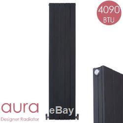 SALE AURA Aluminium Designer Vertical Radiator, Lava, Central Heating WAS £249