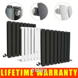 Sand Grey Designer Radiator Flat Panel Column Bathroom Heater Central Heating UK