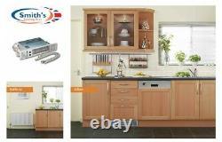 Smiths SS3 Under Cupboard Plinth Heater Kitchen Space Saver Kickspace