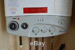 Goede Static Caravan Combi Boiler & Radiators Central Heating Fagor OX-23