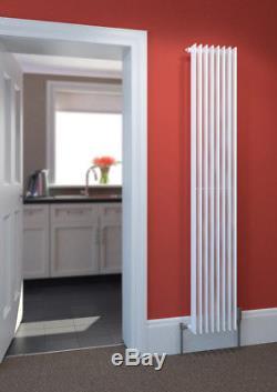 Stelrad Verona Gloss White Vertical Designer Radiators Central Heating