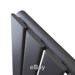 Tall Upright Vertical Designer Radiator Flat Panel Central Heating + FREE Valves