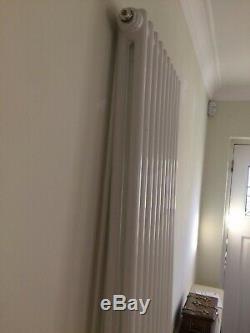 Tall tubular central heating radiator