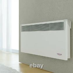 Tesy Electric Convector Panel Heater Radiator Wi-Fi Enabled Wall Mounted