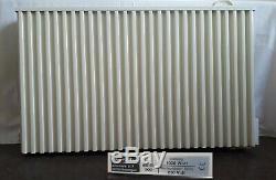 Three Fischer storage radiators with wireless thermostats 2200W, 1900W, 1300W