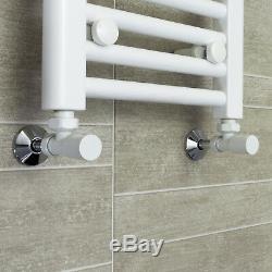 Towel Rail Rad Central Heating Bathroom Radiator White 800mm Wide x High Sizes