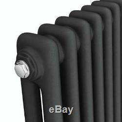 Traditional 2 3 Column Radiator Horizontal Central Heating Cast Iron Style Rads