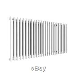 Traditional 2 Column Radiator Horizontal Vertical Central Heating Cast Iron Rads