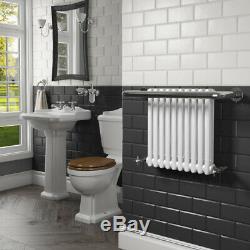 Traditional Bathroom Towel Radiator Heated Wall Mounted Victorian Towel Rail