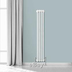 Traditional Radiator Vertical & Horizontal Column Cast Iron Style Rads White UK