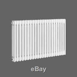 Traditional Triple Panel Colosseum Horizontal Radiator Gloss Central Heating