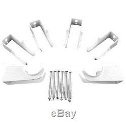 Traditional White Vertical Designer 2 Column Radiator 1800x383mm Central Heating