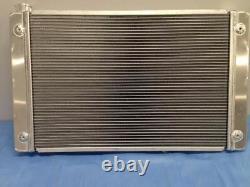 Universal Radiator Chevrolet, Gm Cross Flow Shroud & Dual 12 Fans 31 X 19
