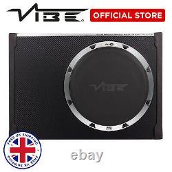 VIBE Blackair 12 Car 900W Passive Radiator Bass Box Subwoofer Slim Enclosure