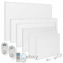 VIESTA Infrarotheizung 300-1200W Infrarot Wandheizung Elektroheizung Thermostat