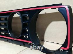 VW Golf MK2 GTI Radiator Grill With Red Trim Strip Red Edge Grille New Part