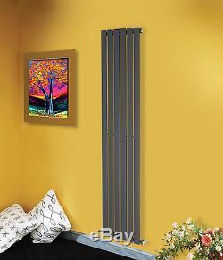 Vertical Designer Flat Panel Rads Column Tall Upright Central Heating Radiator