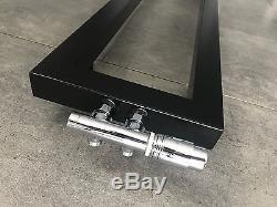 Vertical Designer Radiator 30x180cm Central Heating Radiator Black