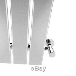 Vertical Designer Radiator Flat Column Tall Upright Central Heating 1800x452 mm