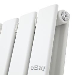 Vertical Designer Radiator Flat Column Tall Upright Central Heating Radiators UK