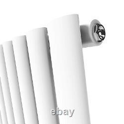 Vertical Designer Radiator Flat Panel Oval Column Tall Upright Heating Rads