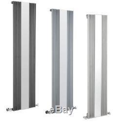 Vertical Designer Radiator Mirror Bathroom Rad Tall Upright Central Heating